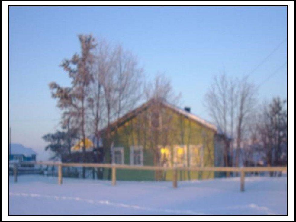 Дом, в котором проживал священник П.И. Попов с женой.